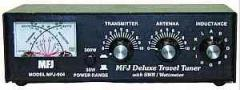 MFJ-904H Compact tuner with SWR meter