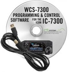 WCS-7300 Software + USB A/B Kabel IC-7300